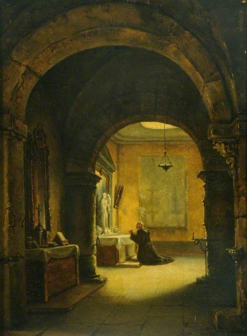 A Chapel in a Monastery