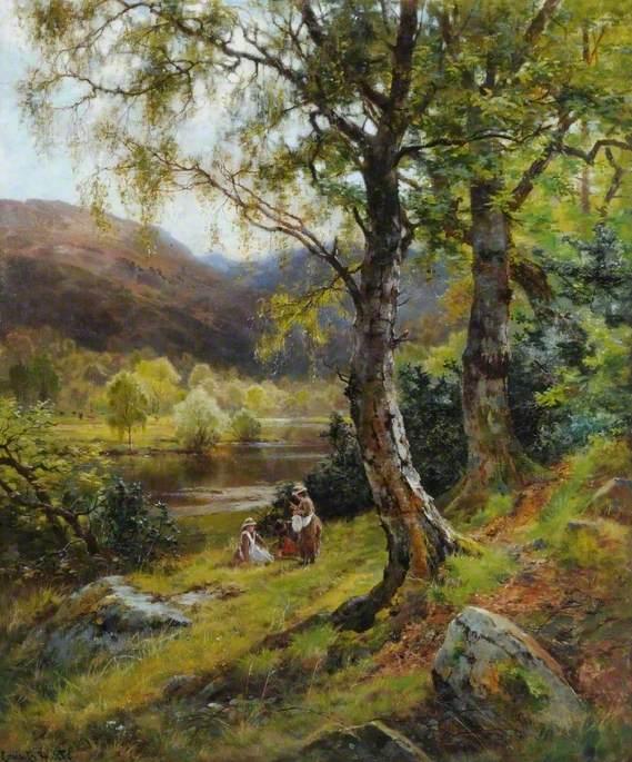 A Pleasant Stream in a Quiet Land