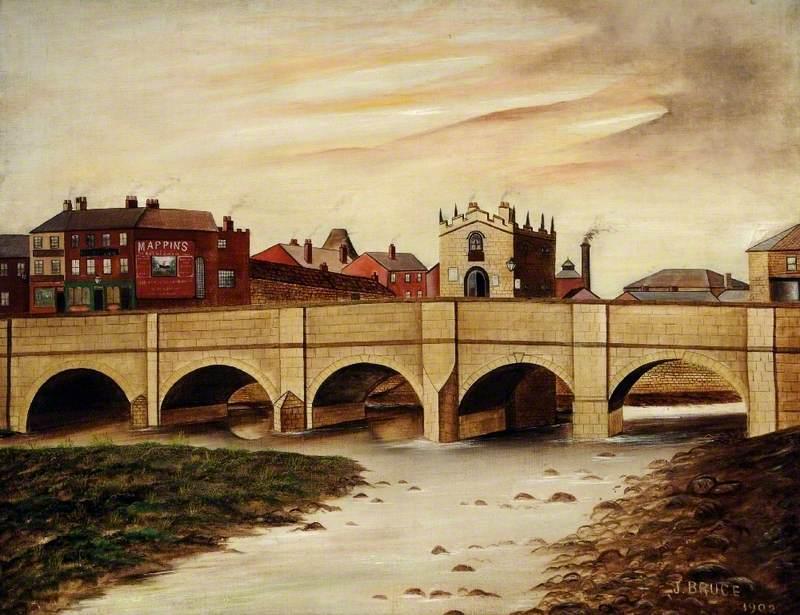Rotherham Bridge (Gaol Bridge), South Yorkshire