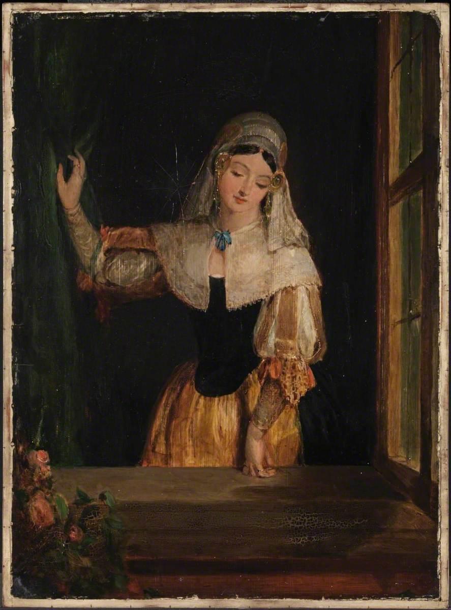 A Dutch Girl ('The Window')