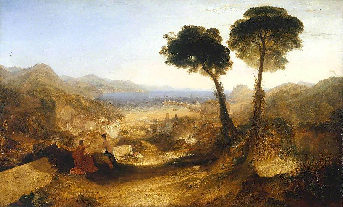 The Bay of Baiae, with Apollo and the Sibyl