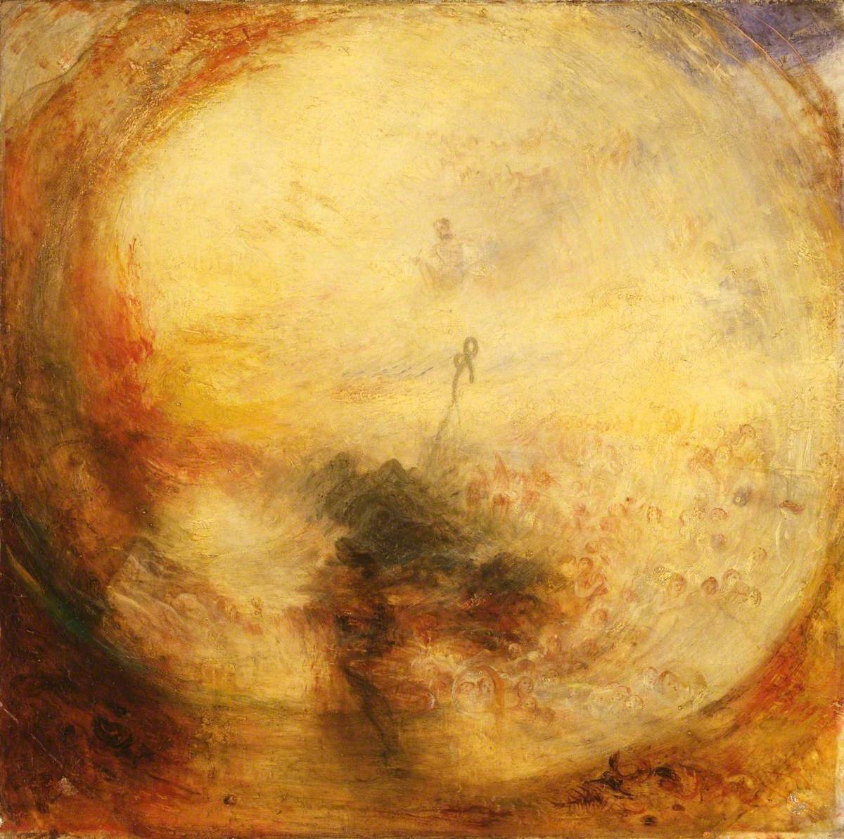 Light and Colour (Goethe's Theory) - the Morning after the Deluge - Moses Writing the Book of Genesis