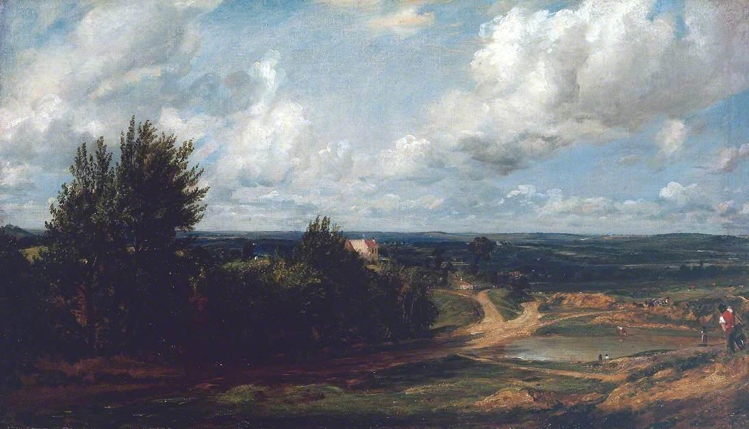 Hampstead Heath, with the House Called 'The Salt Box'