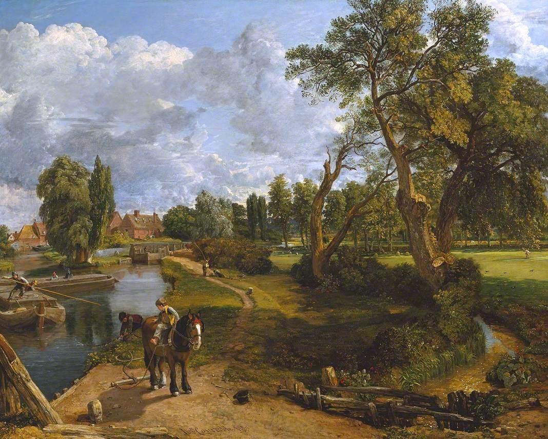 Flatford Mill ('Scene on a Navigable River')