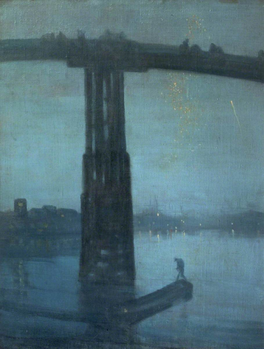 Nocturne: Blue and Gold - Old Battersea Bridge