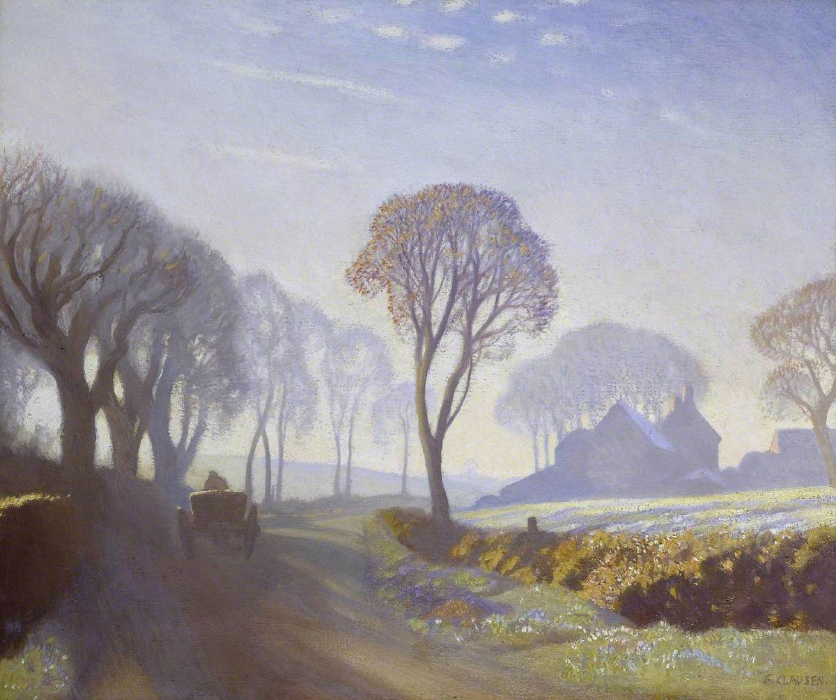 The Road, Winter Morning
