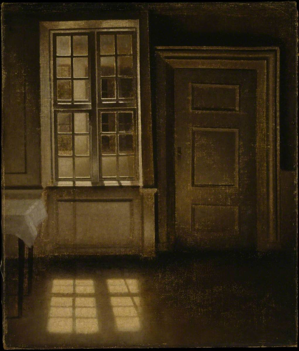 Interior, Sunlight on the Floor