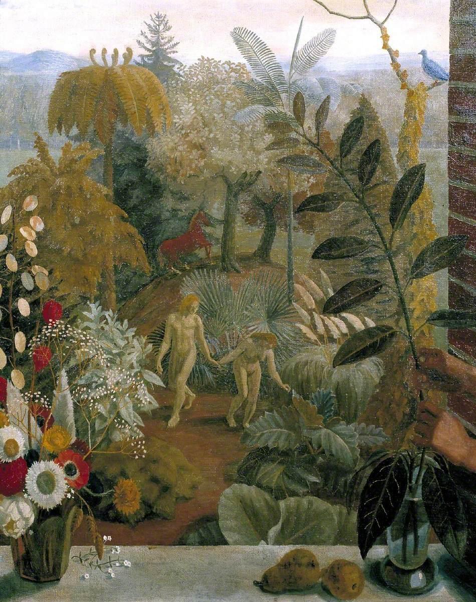 Adam And Eve In The Garden Of Eden Art Uk