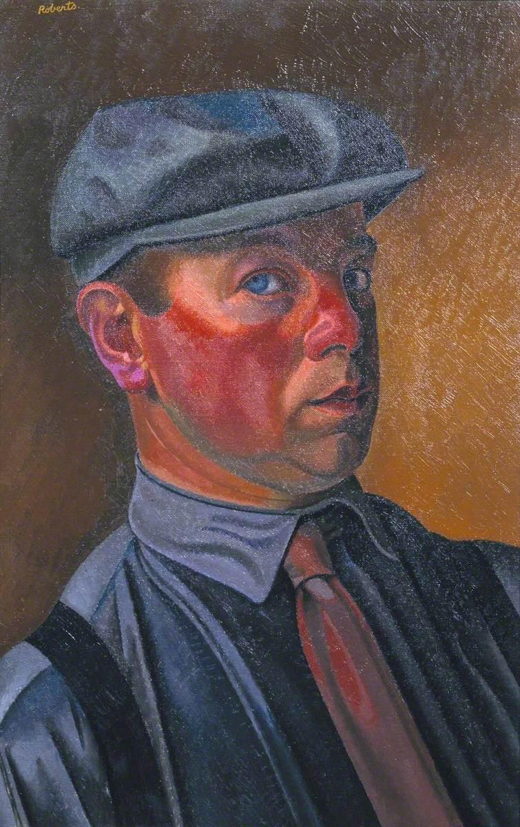 Self-Portrait Wearing a Cap
