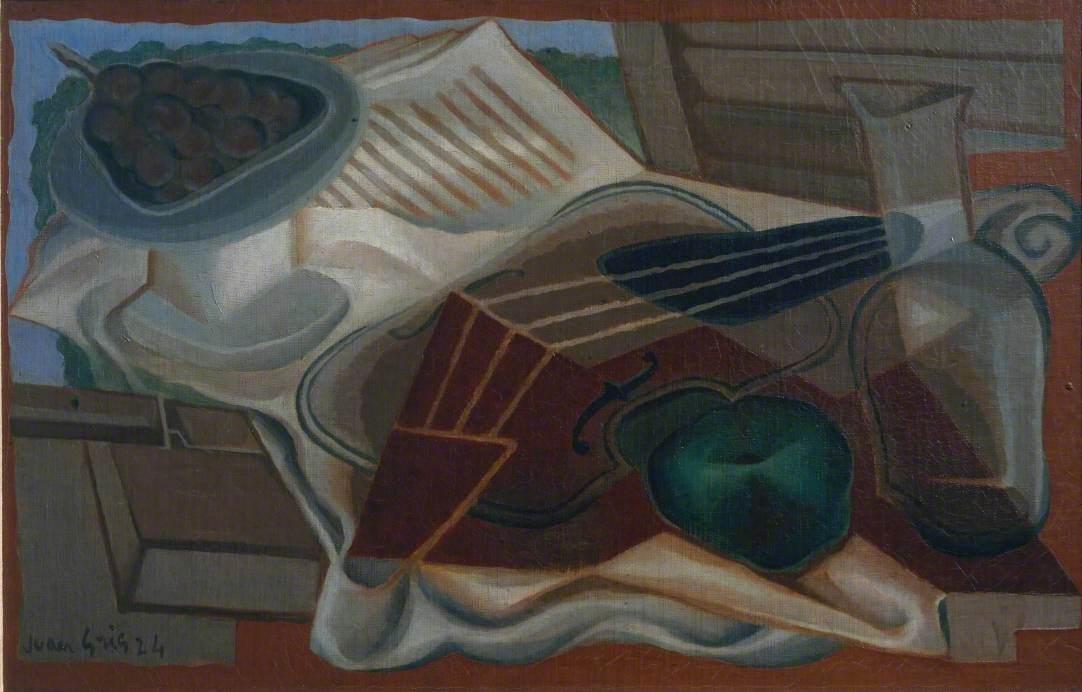 Violin and Fruit-Dish (Violon et compotier)