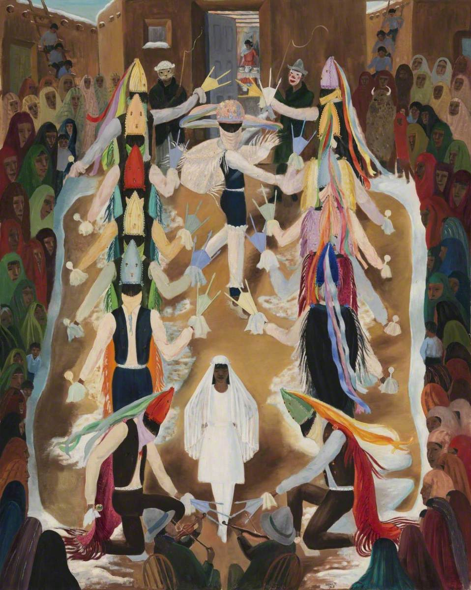 Ceremonial Indian Dance: The Matachinas