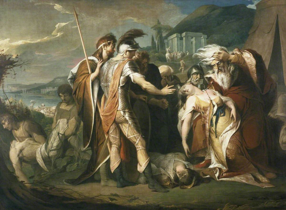 King Lear Weeping over the Dead Body of Cordelia