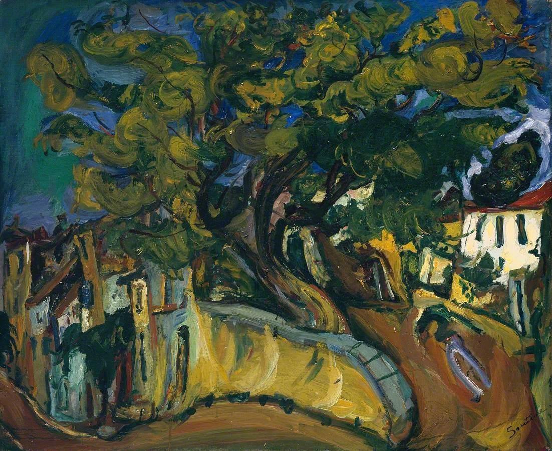 Cagnes Landscape with Tree (Paysage de Cagnes)