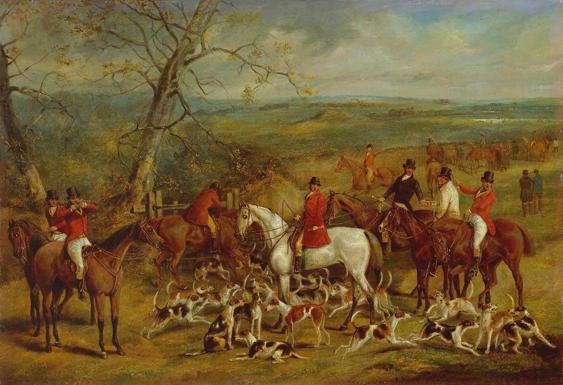 The Belvoir Hunt: The Meet