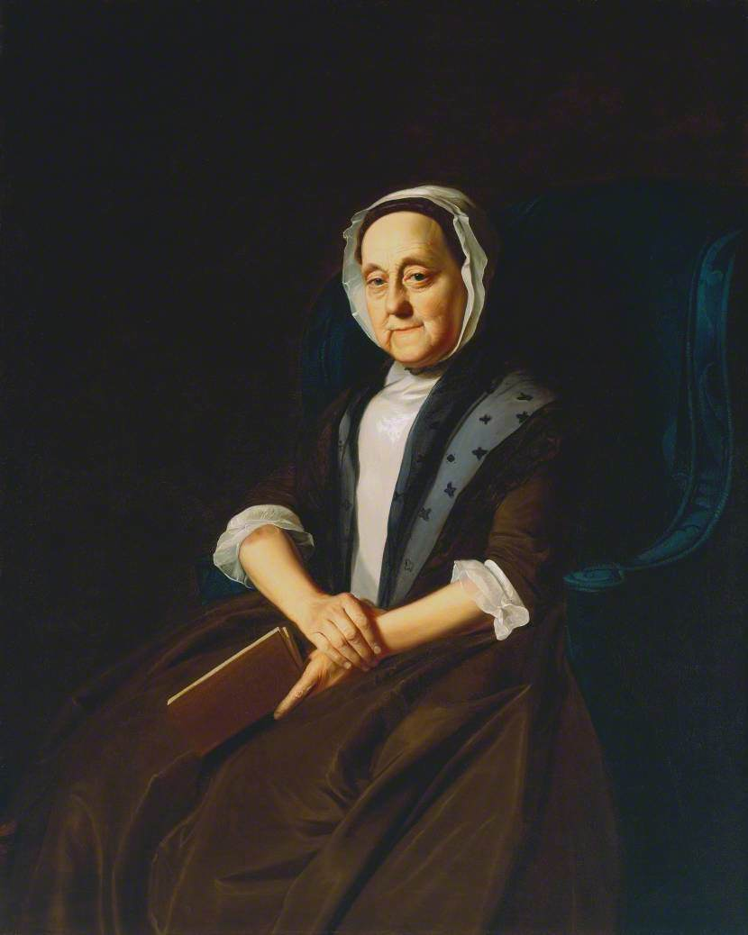 Portrait of Mrs Gill