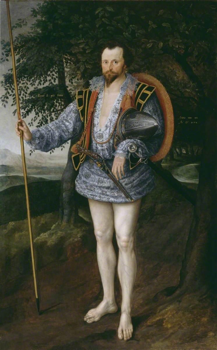 Portrait of Captain Thomas Lee