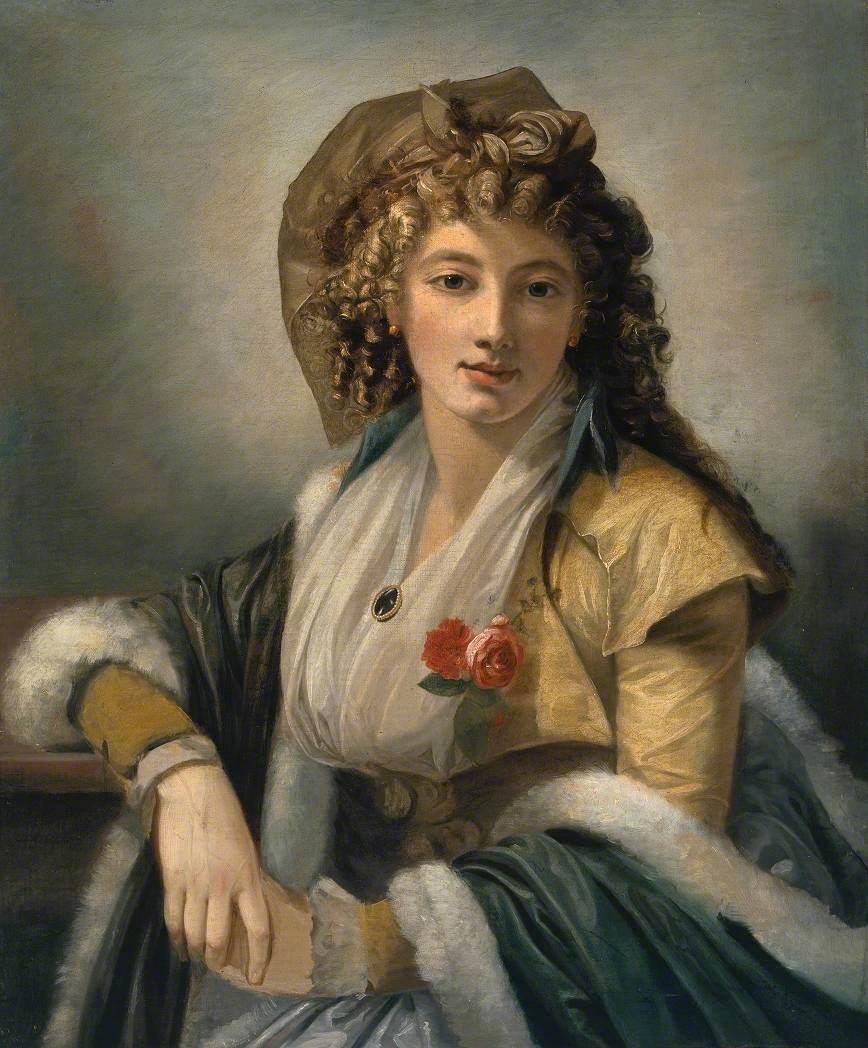 Anna Maria Ferri, la prima moglie dell'artista