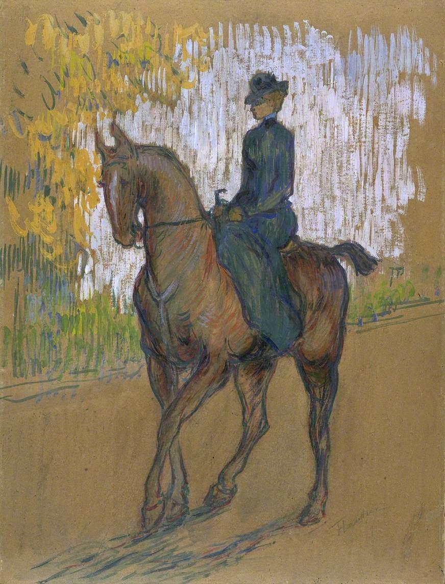 Side-saddle (Amazone)