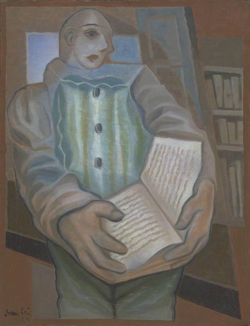 Pierrot with Book (Le Pierrot au livre)