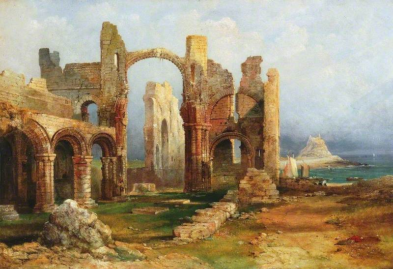 Lindisfarne Priory, Northumberland