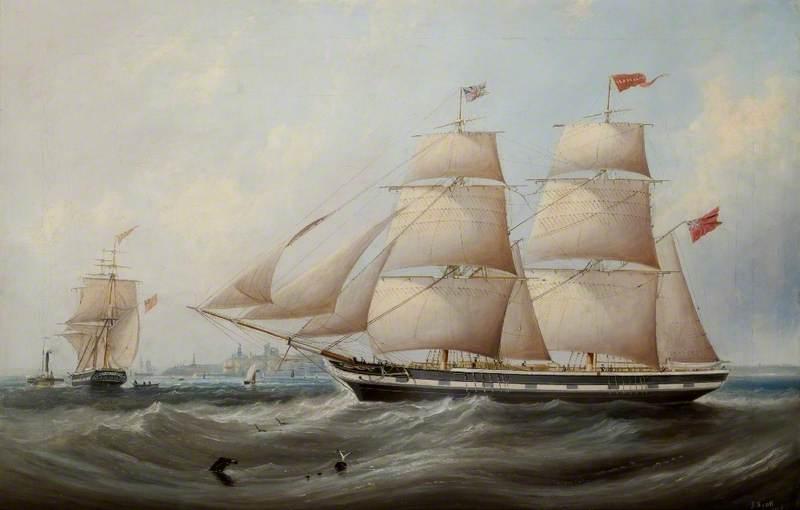 The Sailing Ship 'Isabella'