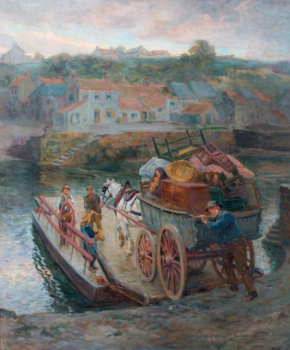 Crossing Hylton Ferry