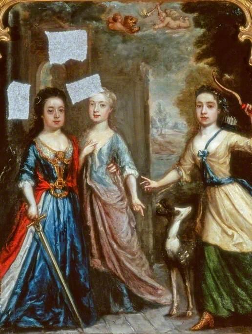 Portrait of Three Children