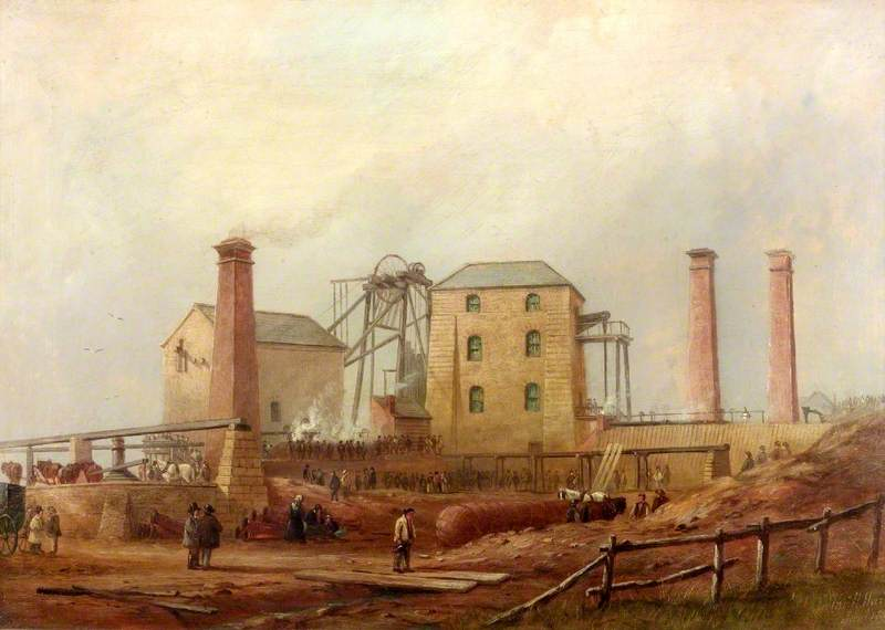 Hartley Colliery after the Disaster