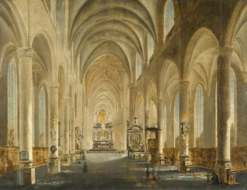 A Church Interior