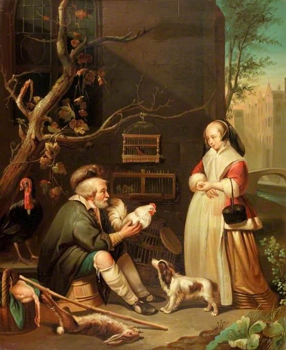 Dutch Bird Seller