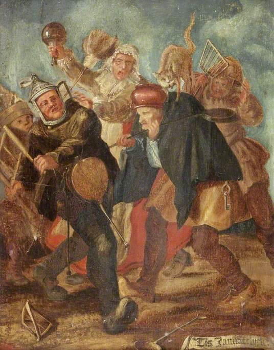 Peasants Brawling