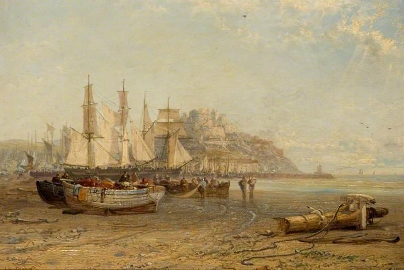 Low Tide, Mount Orgueil, Jesey