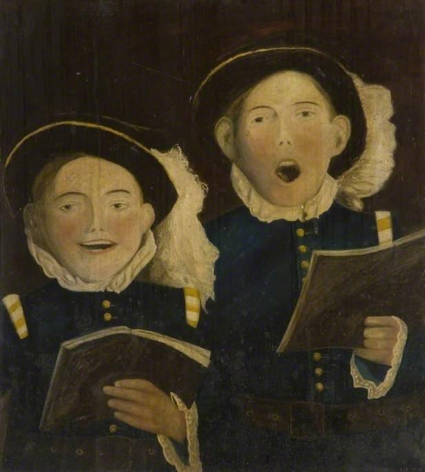 The Choir Boys of St Paul's School