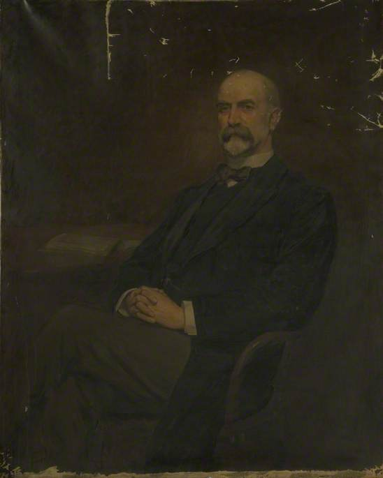Robert Affleck, JP, Chairman of the Board of Guardians