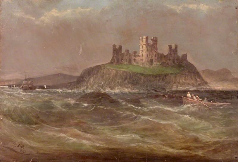 Coastal Scene with Castle