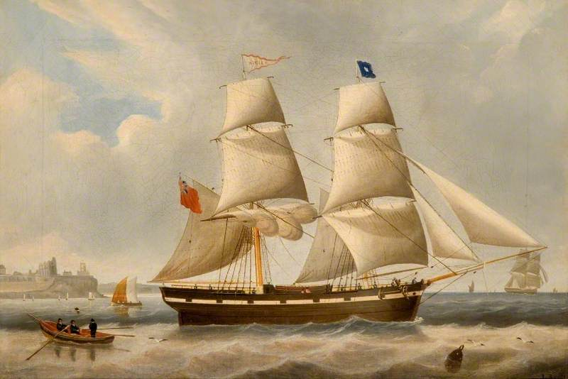 The Collier Brig 'Sicily'