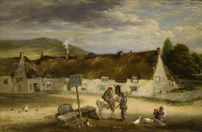 'The Three Half Moons', Rothbury, Northumberland