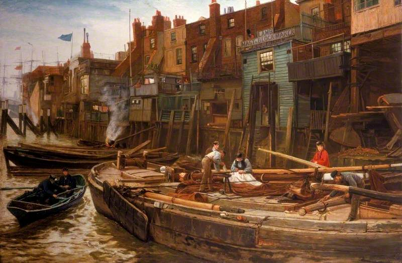 London River, the Limehouse Barge-Builders