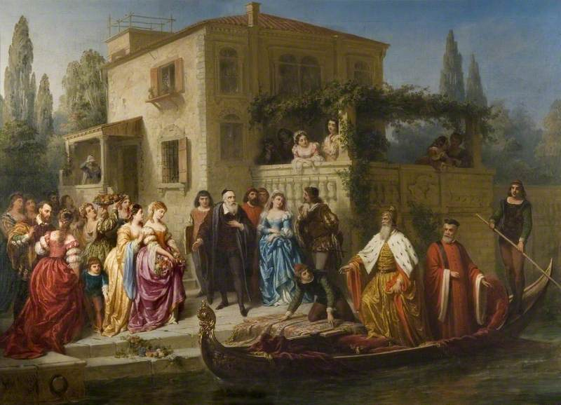 Visit of the Doge of Venice to Titian