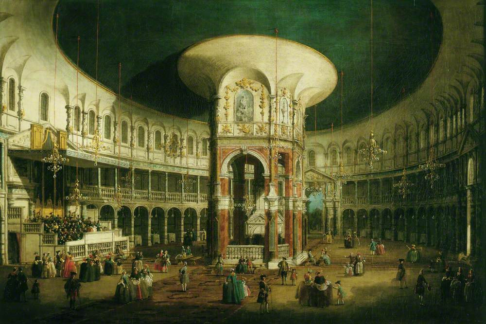 The Interior of the Rotunda, Ranelagh, London