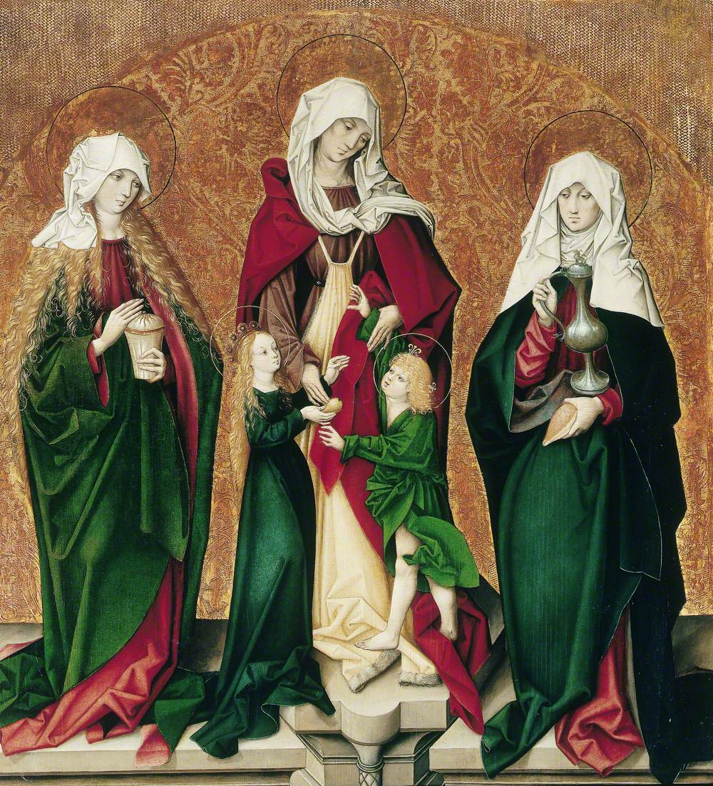 Saint Mary Magdalene, Saint Anne with the Infant Mary, the Christ Child and Saint Barbara