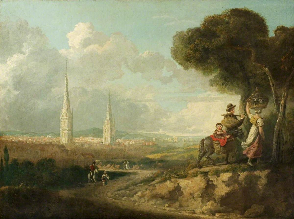 Coventry from Hillfields, Warwickshire