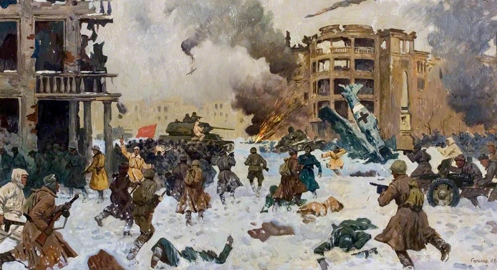 The Battle for Volgograd