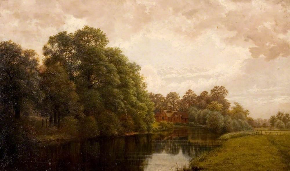 A Peaceful Warwickshire Scene