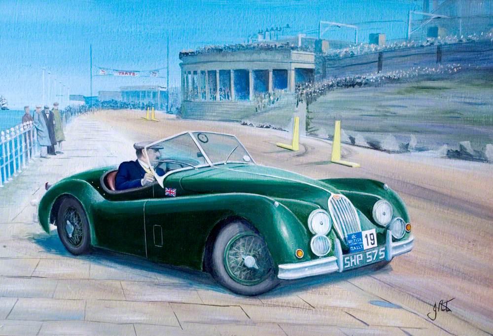 Blackpool Monte, 1956, RAC Rally