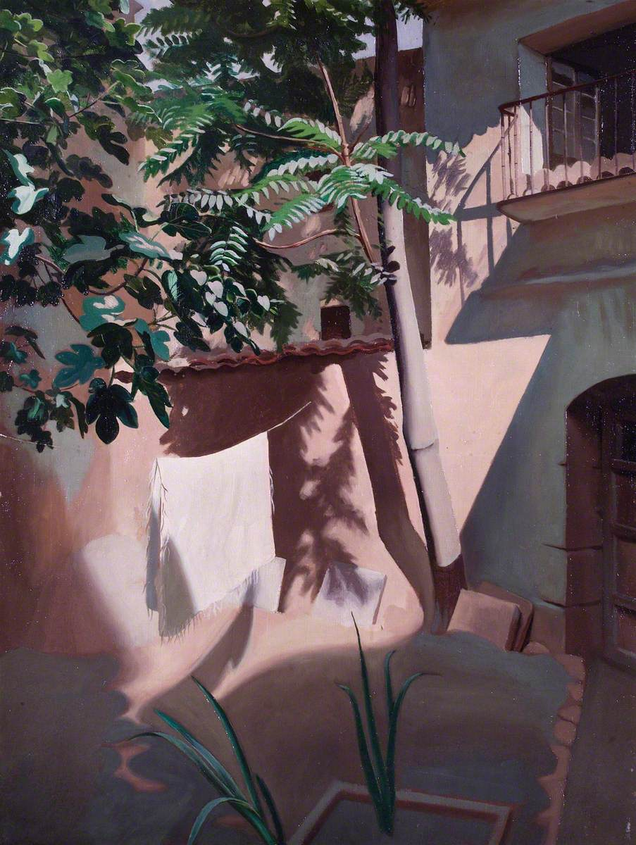 Courtyard in Spain