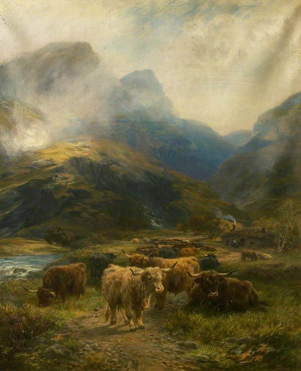 Drovers' Rest in the Highlands