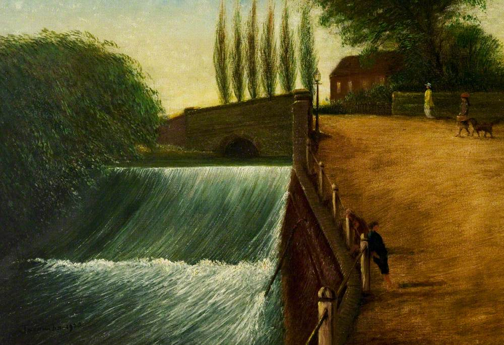 The Weir, Mill Walk, Nuneaton, Warwickshire