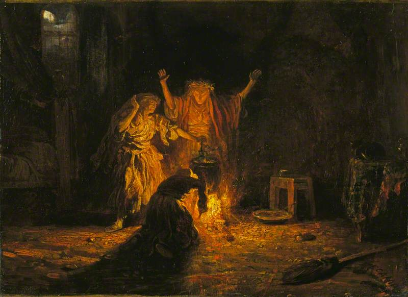 The Witches in 'Macbeth'