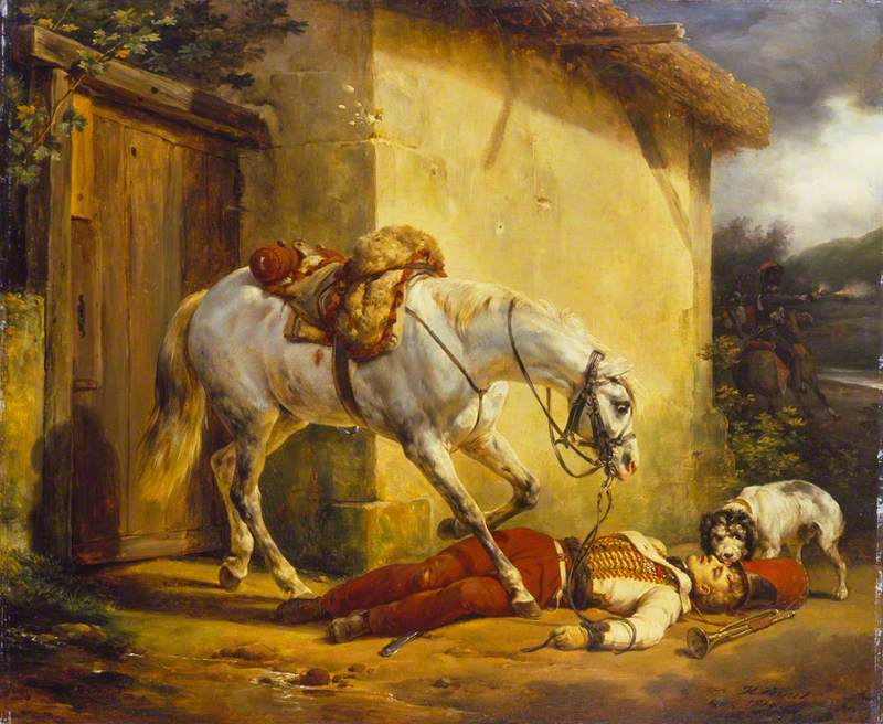 The Wounded Trumpeter